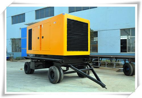 Treatment method for water tank leakage of diesel generator set