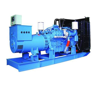 Domestic MTU diesel generator set